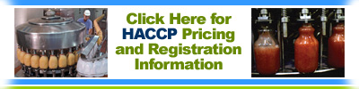 HACCP Pricing & Info